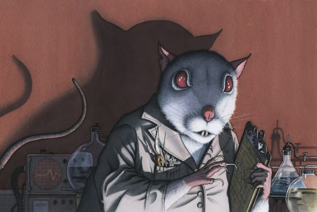 Dr. Rat art