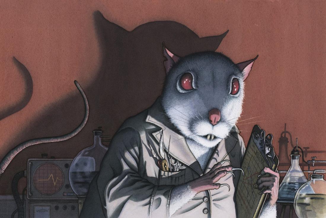 Dr. Rat art