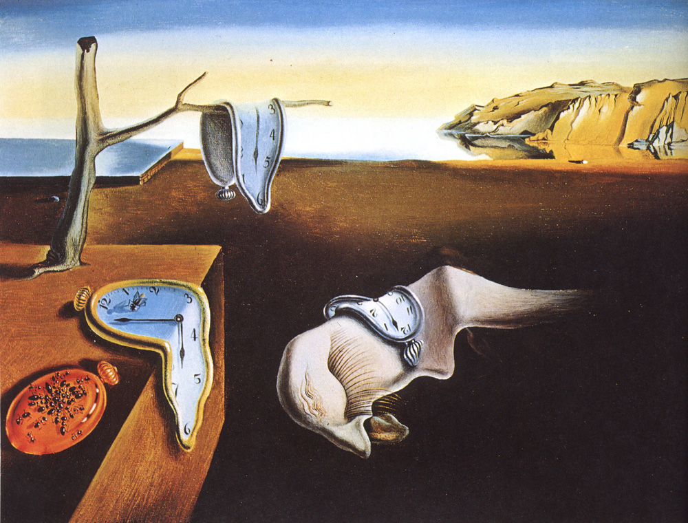 the persistence of memory-hi