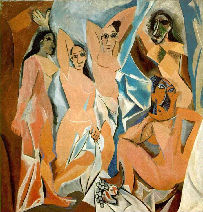 PabloPicasso-Les Demoiselles dAvignon