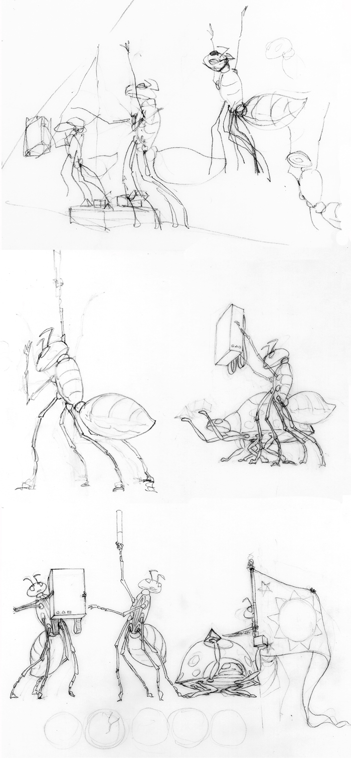 bugs sketches 1